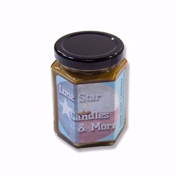 Lone Star Leather | Small Jar | 6.5oz Hex Jar